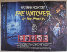 Watcher in the Woods, UK Quad Poster, Bette Davis, David McCallum, '80